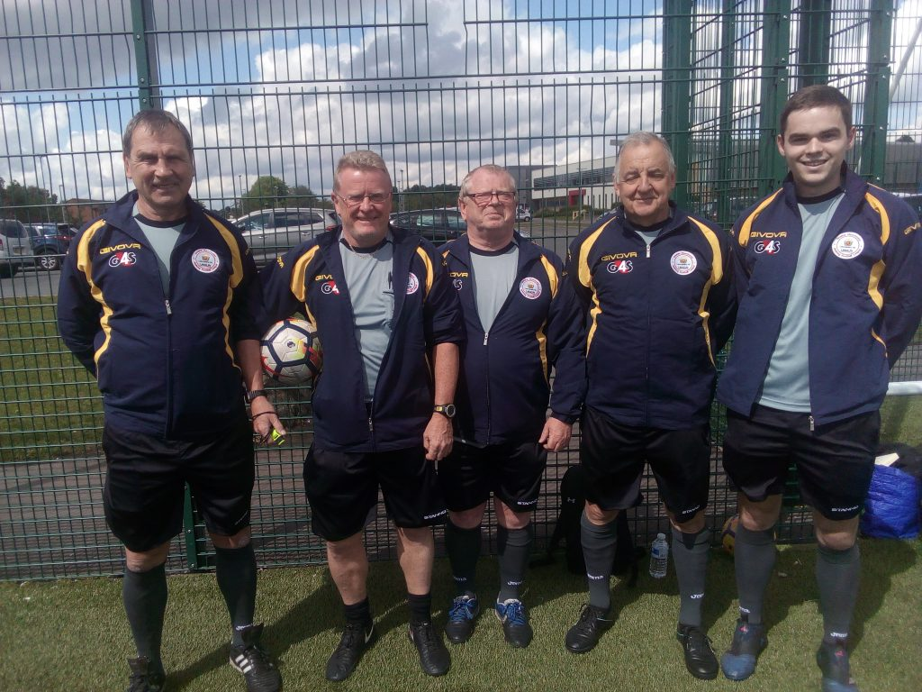 Manchester Walking Football 60s June 2019