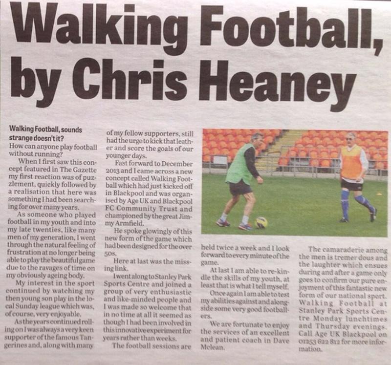 Manchester Walking Football