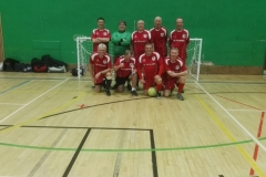 Bury Relics With The GMWF Autumn League Division 3 Runners Up Trophy Dec 2017