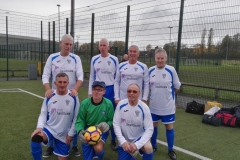 Bury Relics GMWF Over 70's Cup Tournament 08.11.18