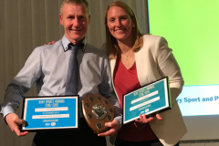Ken Buggie won the 'Unsung Hero' Award for his coaching work in the community at the Bury Sports Awards 2019.