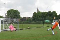 Alan Thompson Saves In The Penalty Shootout