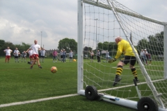 Bill Charlton Scores In The Final Penalty Shootout