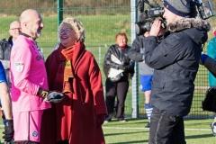 ARD German TV Film Crew Interview Alan Thompson At The Autumn League Dec 2017