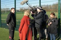 Paul Gardner Being Interviewed By ARD German TV At The Autumn League Dec 2017