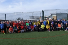 The Teams Line Up For The First GMWF League Session