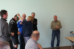 Presentation To Mike Willmore Referee