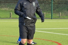 Referee Mike Willmore