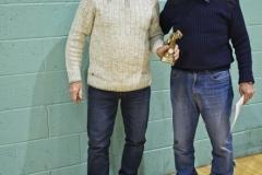 Barney Power Receives The Golden Boot Award On Behalf Of Man City's Bernard Walker