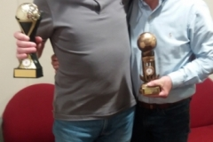 60s Winners Mick Tarpey & Stuart Greaves