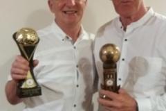 65s Winners Ray Richards & Pete Hampson