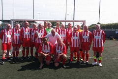 Manchester Corinthians Reds & Whites Nantwich 50s Prostate Cancer UK Tournament 04.07.19
