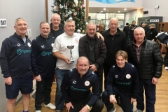 Manchester Corinthians Whites Winners GMWF Over 60s Division 3 Autumn League 2019