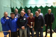 Bury Relics Runners Up GMWF 60s Division 1 Autumn League 2019