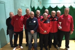 Fleetwood Town Flyers Runners Up GMWF 60s Division 2 Autumn League 2019