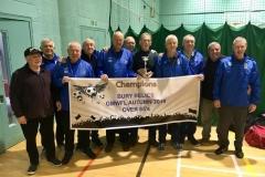 Bury Relics Winners GMWF 65s Division 1 Autumn League 2019