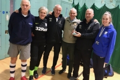 Preston North End Senior Whites Runners Up GMWF 65s Division 2 Autumn League 2019