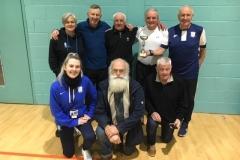 Preston North End Senior Whites Runners Up GMWF 70s Division 1 Autumn League 2019