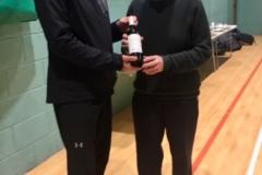 Pat Fitzgerald Of Bury Relics Wins The Fair Play Award